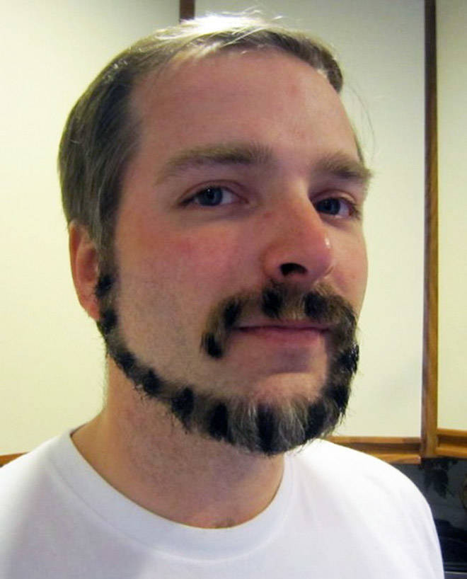 30 men who decided to try the monkey tail beard look!