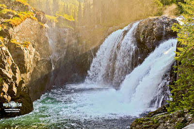 Rjukandefossen waterfall in Norway