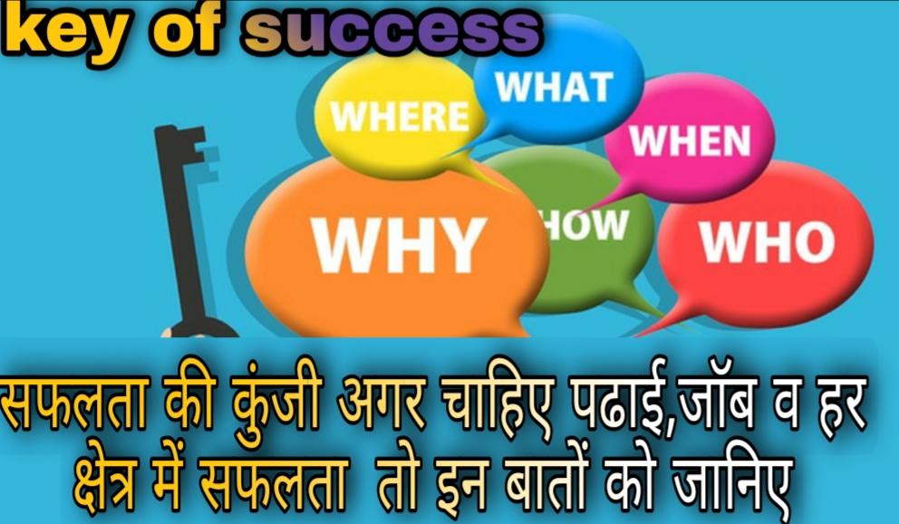 Key of success in hindi