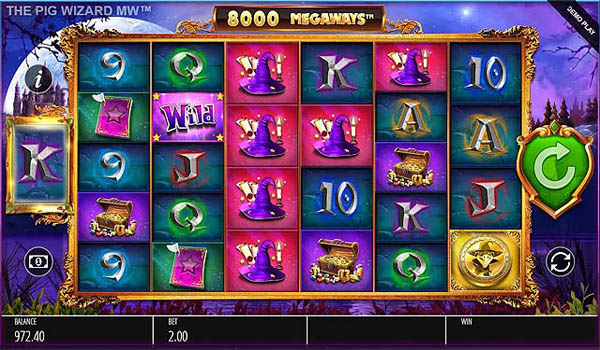Main Gratis Slot Indonesia - The Pig Wizard Megaways (Blueprint Gaming)