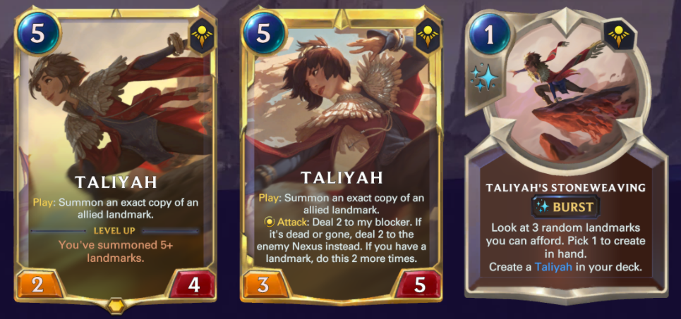 LEGENDS OF RUNETERRA: GUIDE AND DECKS ON TALIYAH