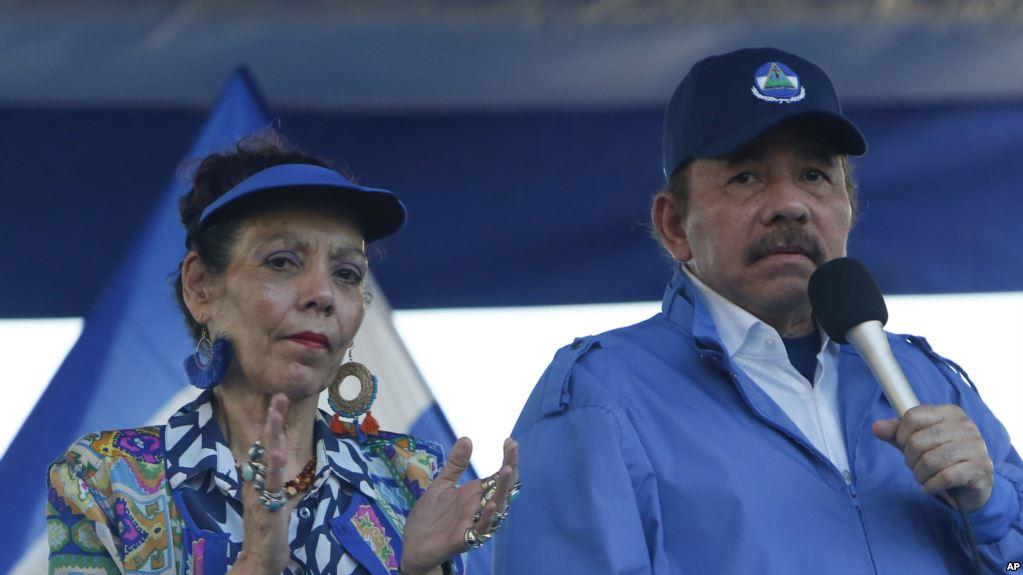 El matrimonio Ortega gobierna una convulsionada Nicaragua / AP