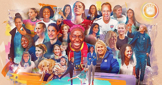 Celebrated women contributions development of football
