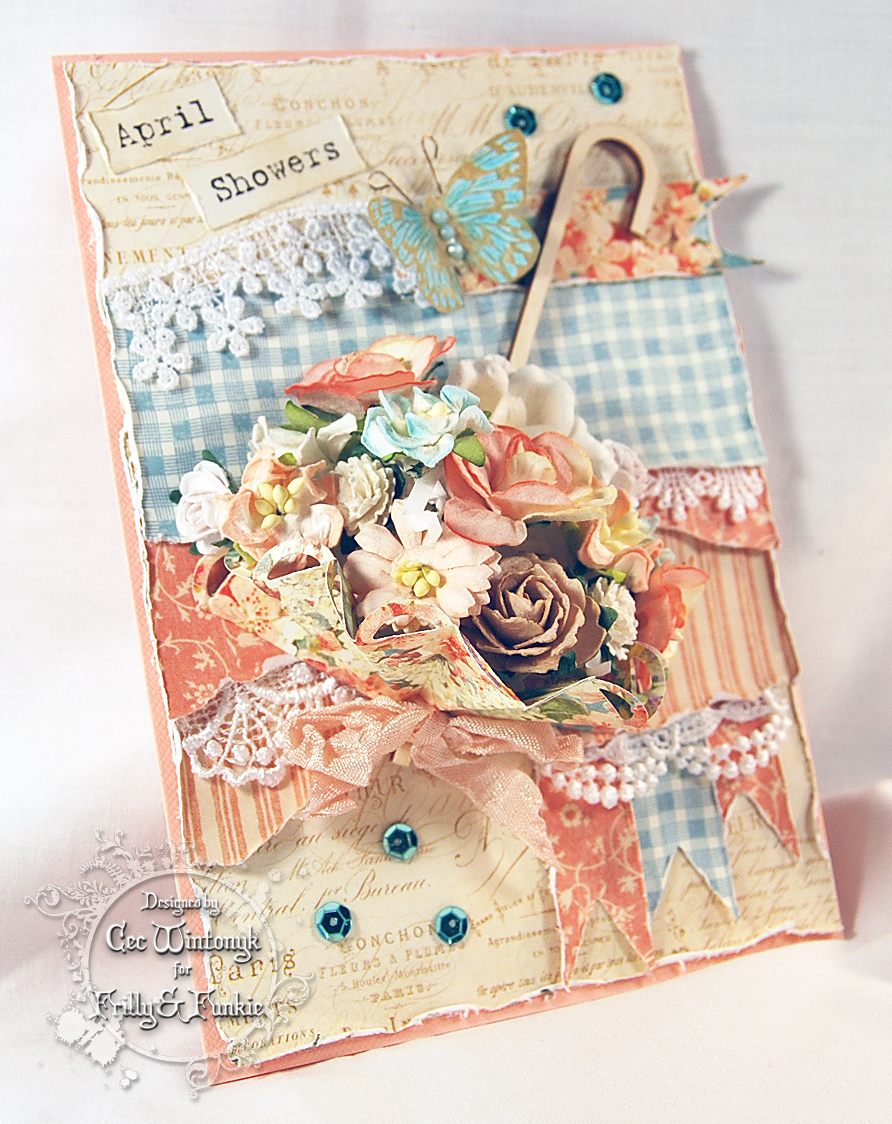 CW Card Creations: April Showers