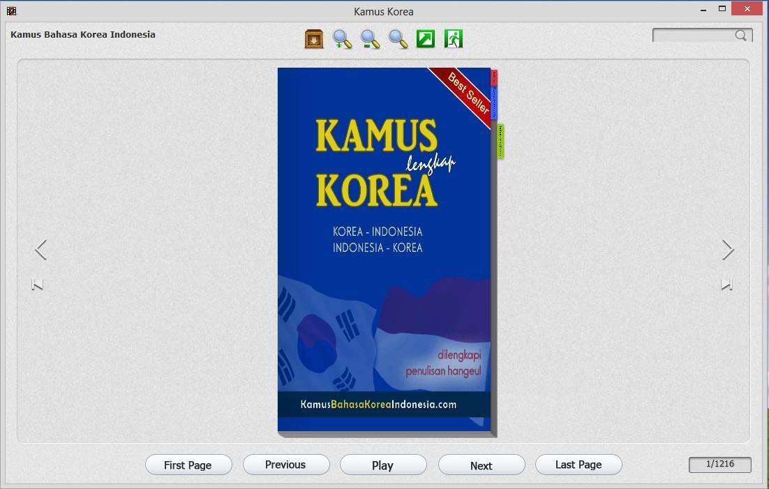 langkah 7 cara membuka file aplikasi software kamus bahasa korea di komputer windows yg tidak bisa dibuka