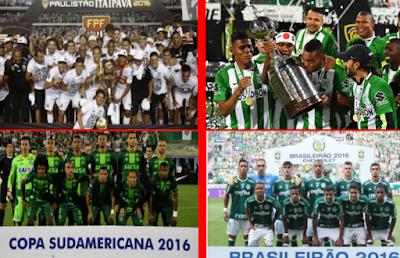 Os campeões em 2016