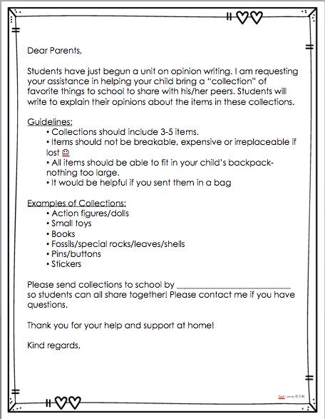 Opinion Writing In First Grade FREEBIES