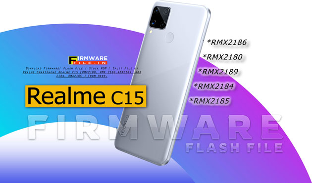 Realme C15 RMX2180 Flash File