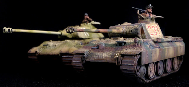 1/56 King Tiger 2 1/56 Panther Warlord Games Panzer Lehr