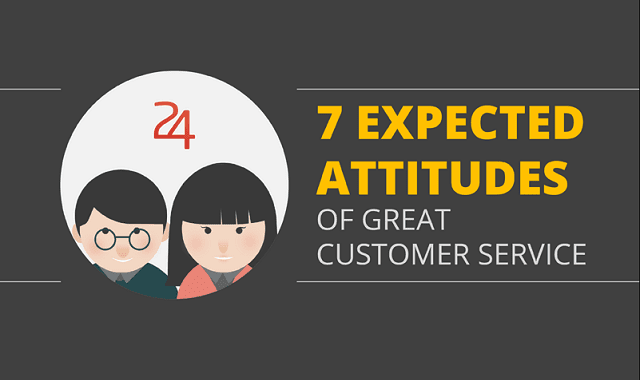 7 Expected Attitudes of a Great Customer Service