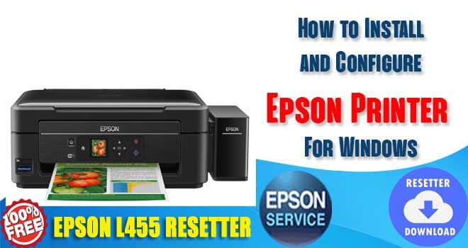 Epson L455 Adjustment Program