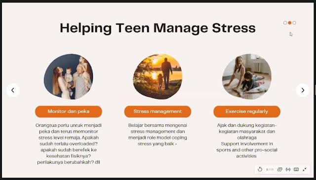 Cara mengelola stress remaja