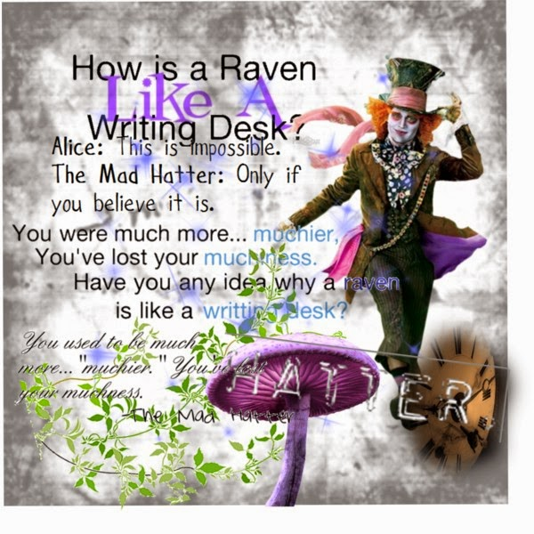 Mad Hatter Quotes: Alice In Wonderland Mad Hatter Quotes Book. QuotesGram