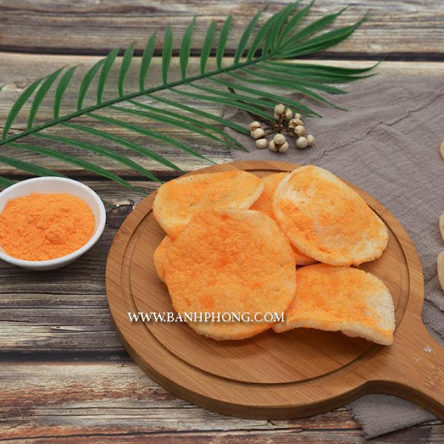 Dinh dưỡng món bánh phồng cá và bim bim thông thường