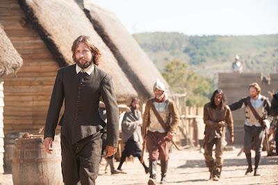 Uma produção que narra os conflitos dos peregrinos e aventureiros de Mayflower e as tribos nativas americanas do século XVII - Divulgação/FOX