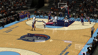 NBA 2K13 Bobcats Court Patch Update NBA2K