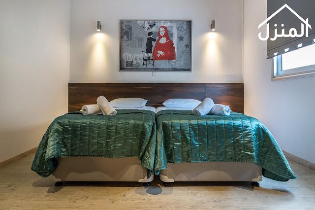 ترتيب الغرفة مثل غرف الفنادق