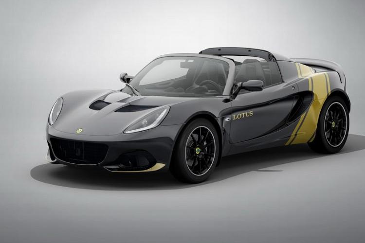 Lotus Elise Heritage Edition ra mắt với bốn phối màu đặc biệt