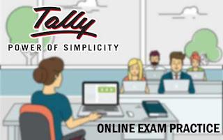 tally exam, tally erp exam, tally online exam