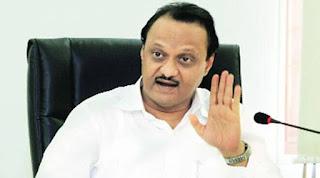 Nilesh Rane attacks on Ajit Pawar