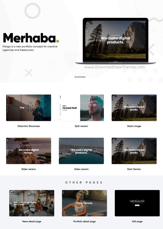 Creative Portfolio WordPress Template