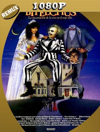 Beetlejuice el super fantasma (1988) REMUX [1080p] Latino [GoogleDrive] SilvestreHD
