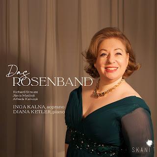 Das Rosenband - Richard Strauss, Jānis Mediņš, Alfrēds Kalniņš; Inga Kalna, Diana Ketler; Skani
