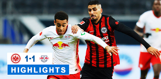 Eintracht Frankfurt vs RB Leipzig – Highlights
