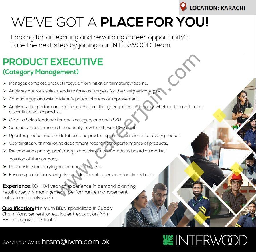 Interwood Mobel Pvt Ltd Jobs Product Executive