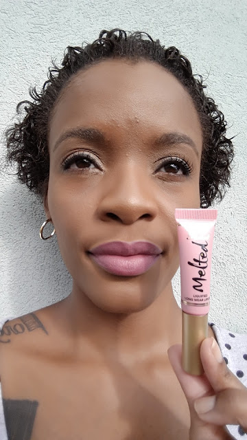 Too Faced Melted Liquified Long Wear 'Melted Peony' swatch - www.modenmakeup.com