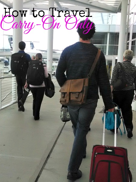 carry-on travel tips