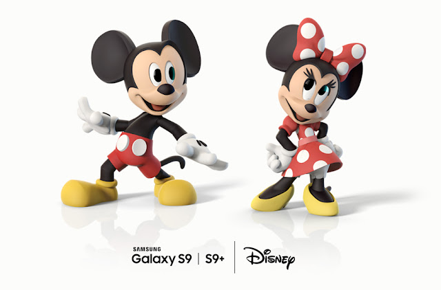 Disney AR Emoji Magic for the Galaxy S9 and S9+