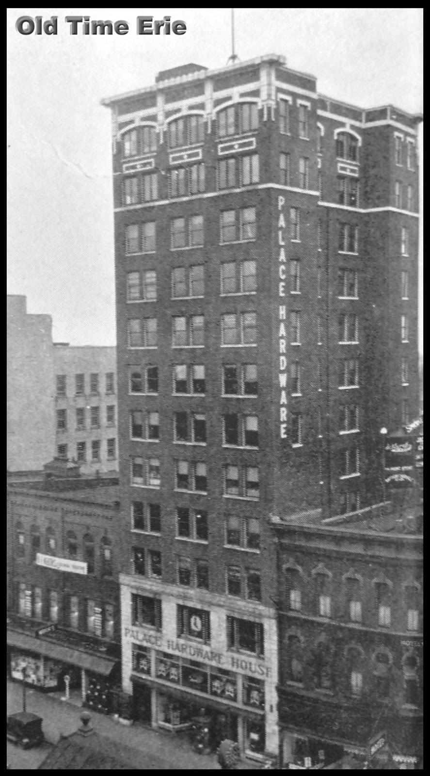 The Palace Hardware Building Was Constructed Around 1914 And Still Stands At 913 State Street In Erie Pa House A Retail That
