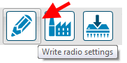 Xbee Write Radio Settings