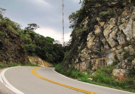 Estrada Turística do Jaraguá, local da corrida. Foto: acervo Caminhos do Mar
