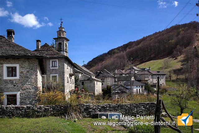 Rasa nelle Centovalli in canton Ticino