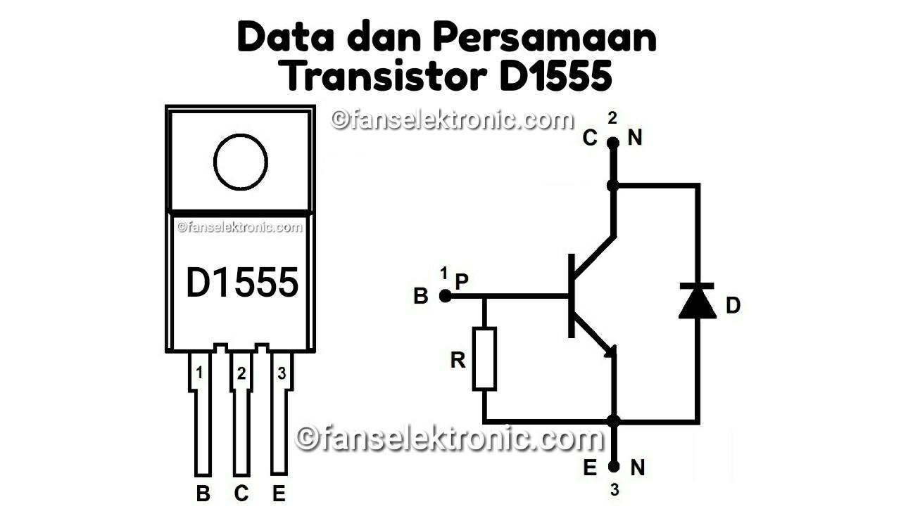 Persamaan Transistor D1555