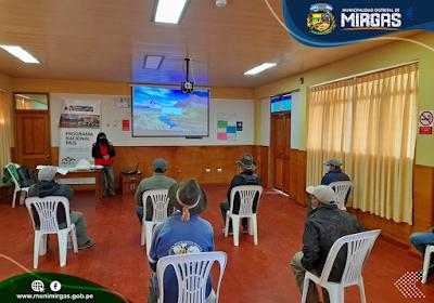 Visita de campo y taller de sensibilización sobre los lineamientos del proyecto Haku Wiñay