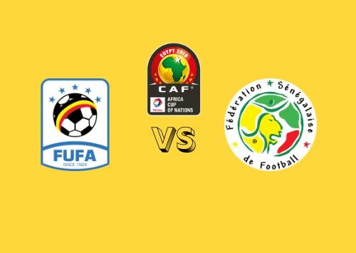 Uganda vs Senegal  Resumen
