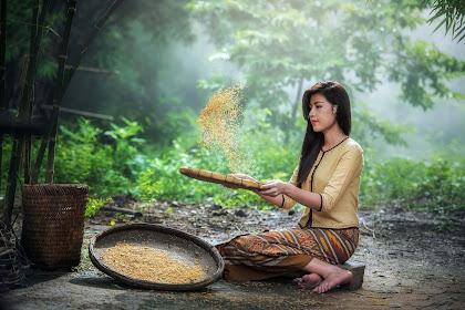 Puisi Pendek - Gadis Desa Pesisir Pantai