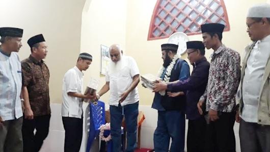 Perwakilan Wamy Resmikan Masjid Ali Bin Said di Komplek Permata Surau Gadang