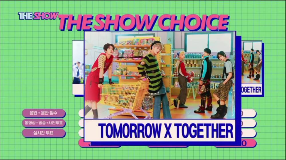 TXT Takes Home The 1st Trophy For 'LO$ER=LO♡ER' on 'The Show'