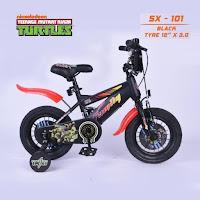 sepeda anak family kura-kura ninja bmx