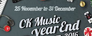 CK Music Year End Sale 2016