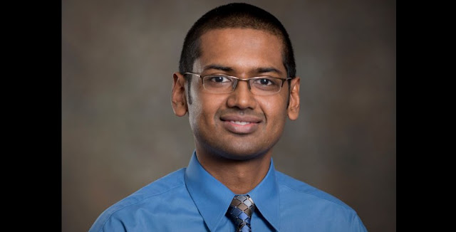 University of Houston optometrist Nimesh Patel has quantified the changing eye structure of returning International Space Station astronauts.