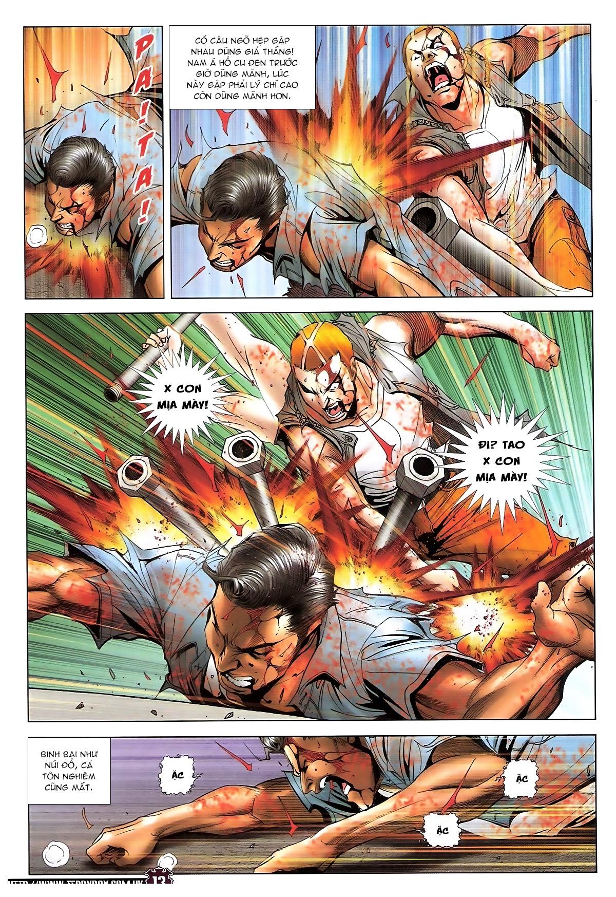 Người Trong Giang Hồ chapter 1724: tiểu đông trở về trang 11