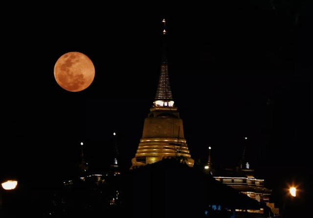 This Monday, the night will be illuminated by a pink super moon.
