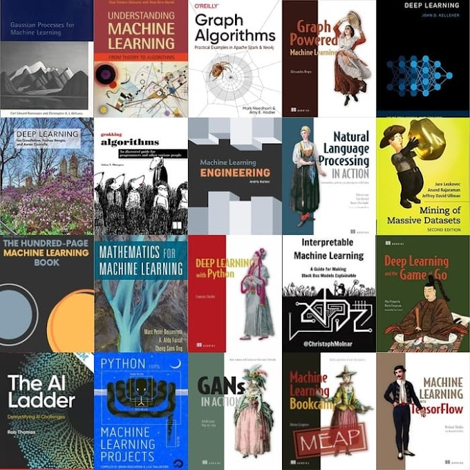 100+ Free Machine Learning Books and Free Artificial Intelligence Books