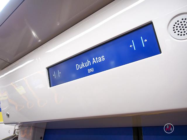 Dukuh Atas - BNI Station 雅加達地鐵系統紅線 - Moda Raya Terpadu Jakarta / Jakarta MRT North–South Line
