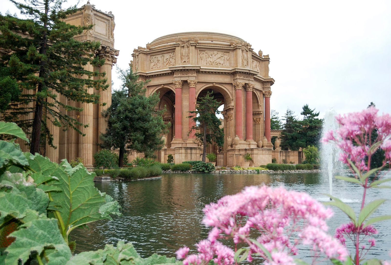 san francisco palace fine arts